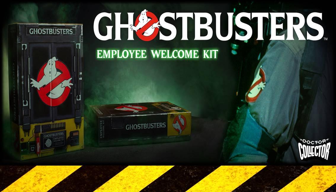 Dalla Spagna il pre-ordine del kit per diventare un Ghostbuster
