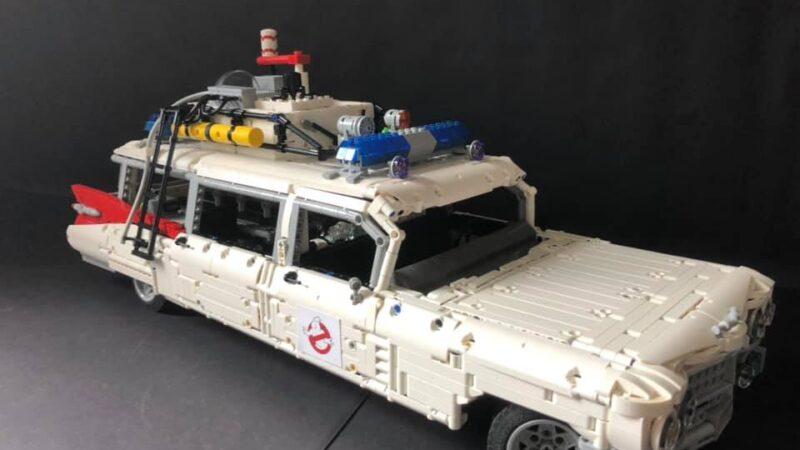 Ecto-1 riprodotta in Lego Technic al London Film & Comic Con