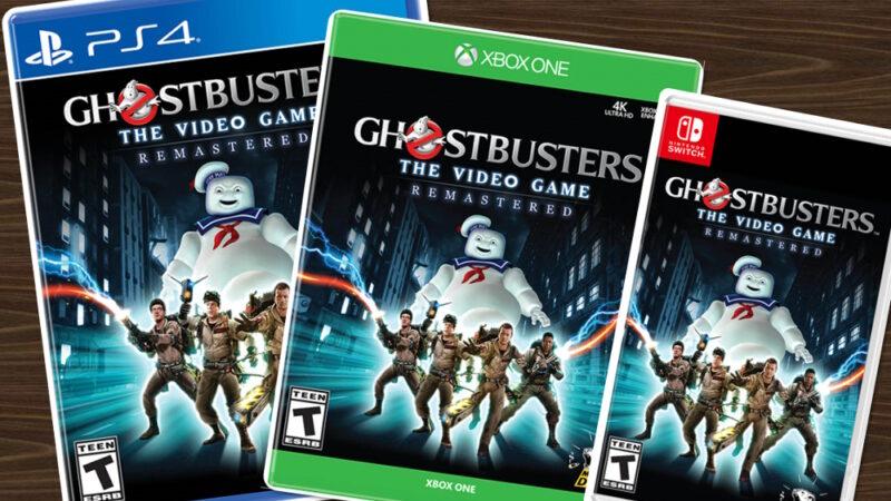 Anteprima confezioni Ghostbusters The Video Game Remastered