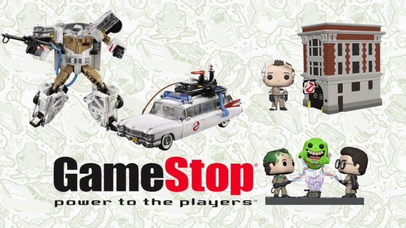 Su Game Stop Italia nuovi prodotti Ghostbusters