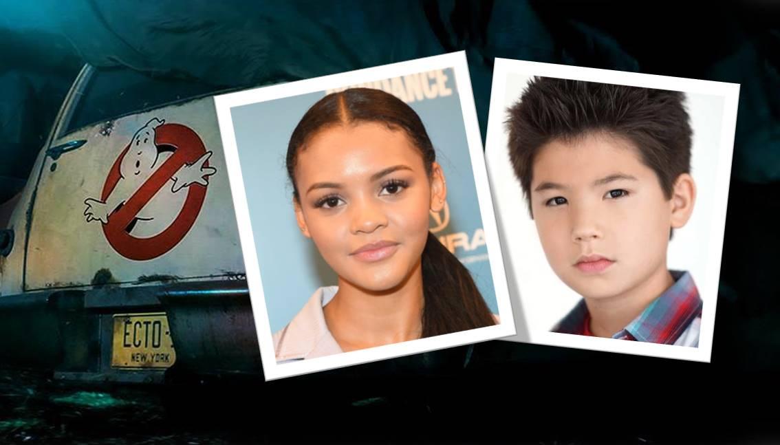 Ghostbusters 3: Celeste O'Connor e Logan Kim nel cast del film