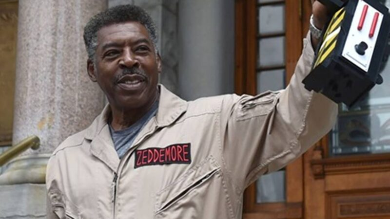 Ernie Hudson, cattura Slimer al Syracuse City (New York)