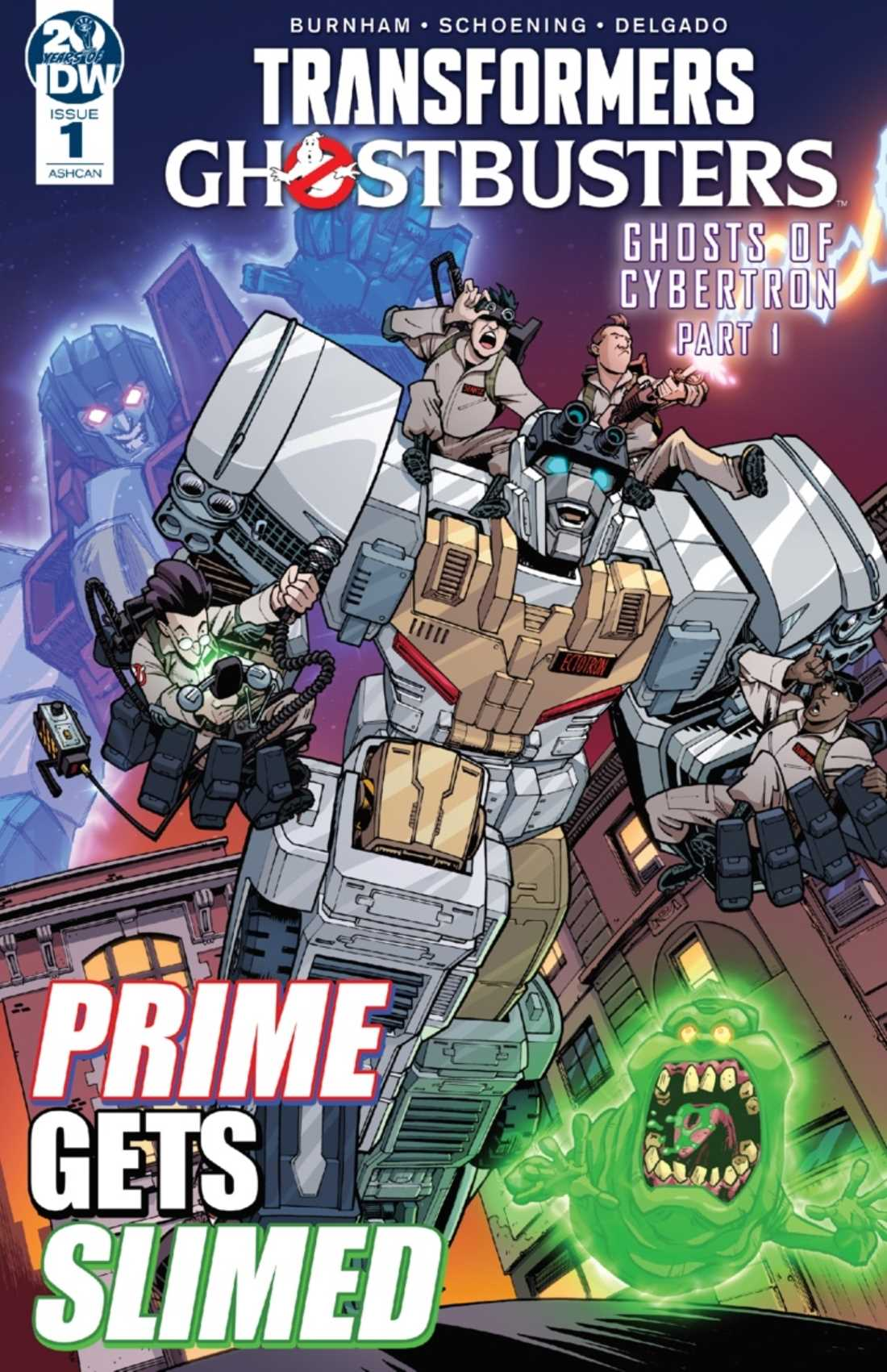 IDW: crossover tra Ghostbusters e Transformers