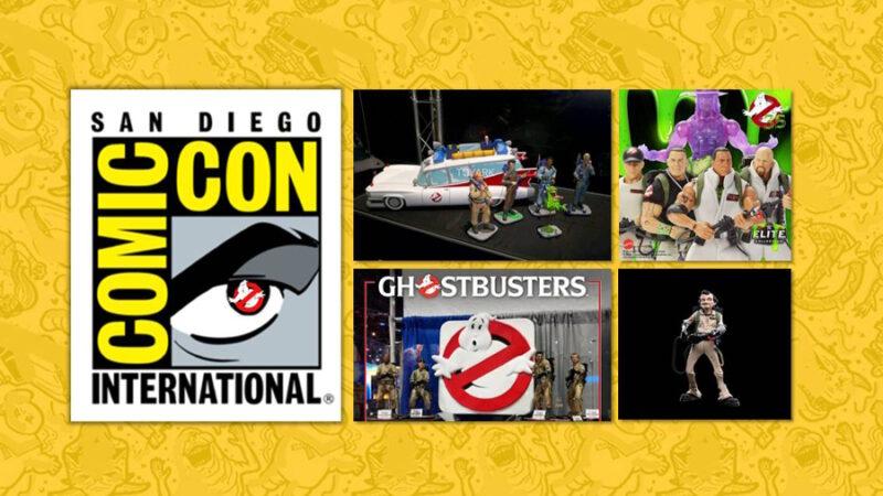 San Diego: Primi prodotti Ghostbusters al Comic Con