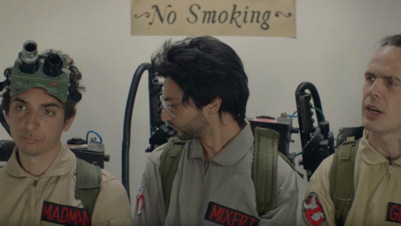 Omaggio ai Ghostbusters per  il nuovo video clip di Gemitaiz & Madman