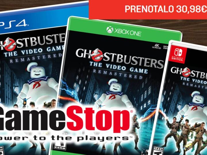 Ghostbusters The Video Game Remastered su Game Stop Italia
