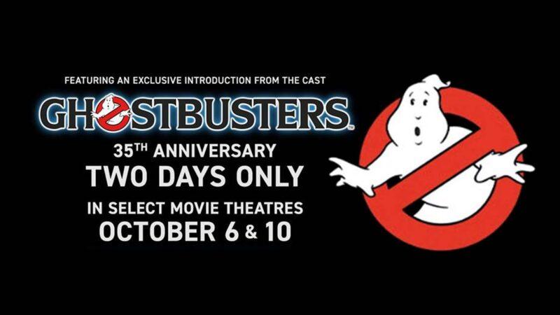 35° Anniversario: Ghostbusters torna nei cinema americani