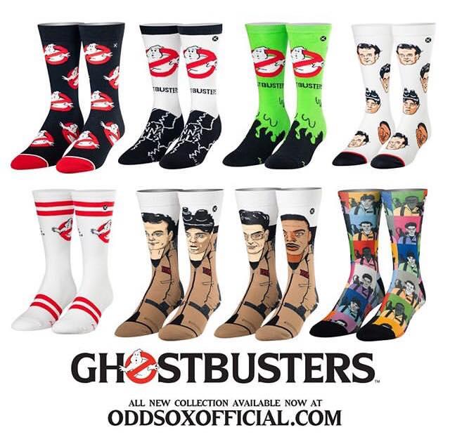 Calzini a tema Ghostbusters!
