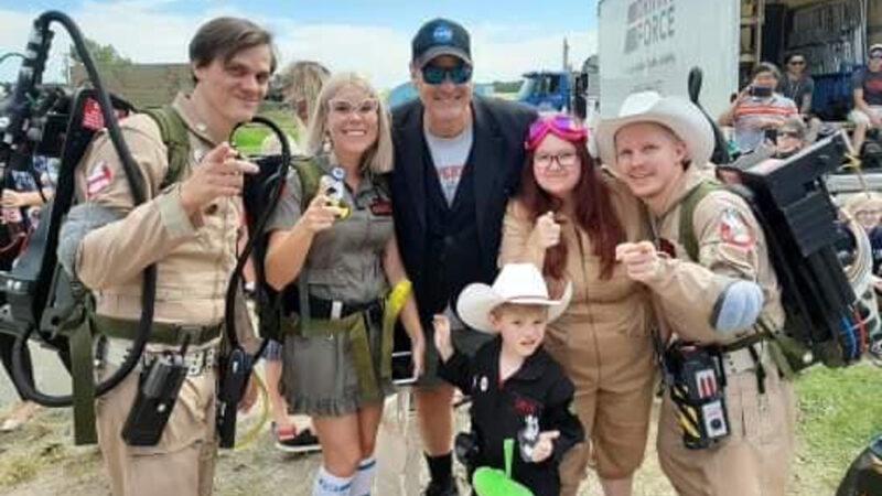 Ghostbusters 2020: Dan Aykroyd sul set con i fan
