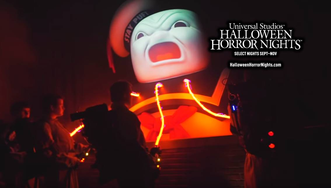 Video: Horror House Ghostbusters presso Universal Studios ad Hollywood
