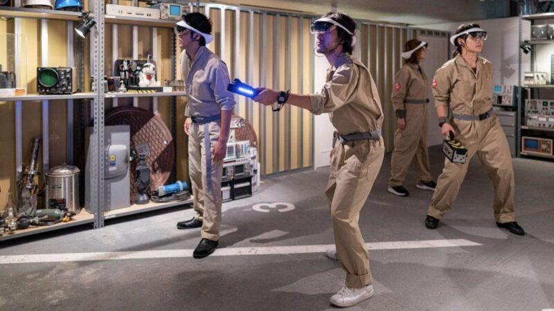 Sony lancia l'addestramento Ghostbusters con la realtà aumentata