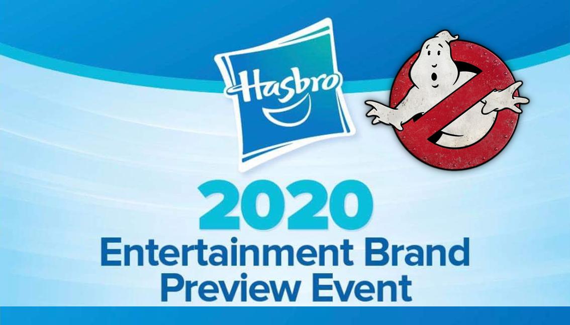"""Presentazione dei prodotti Ghostbusters al """"Hasbro Toy Fair"""" a New York a febbraio"""