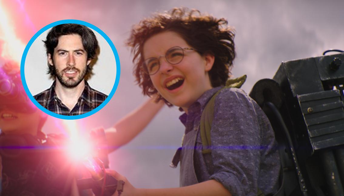 """Jason Reitman: """"Il mio viaggio è iniziato con un'idea. Una ragazza trova uno zaino protonico."""""""