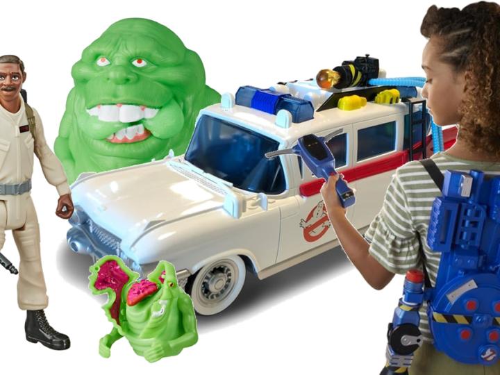 Anticipazione giocattoli Hasbro Ghostbusters: Legacy
