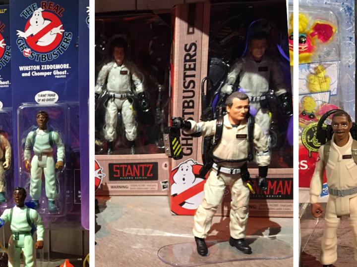 """Ristampa della linea di giocattoli  """"The Real Ghostbusters"""" della Kenner e nuove action figure classiche e di Ghostbusters Legacy"""
