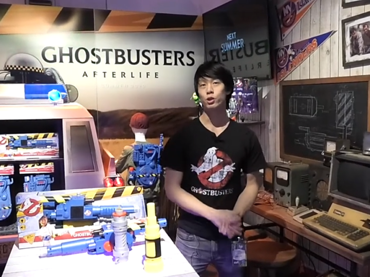Video dello stand Hasbro al Toy Fair di New York dedicato a Ghostbusters