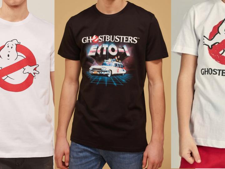 T-Shirt per bambini e ragazzi con licenza ufficiale Ghostbusters in vendita a Terranova e Piazza Italia