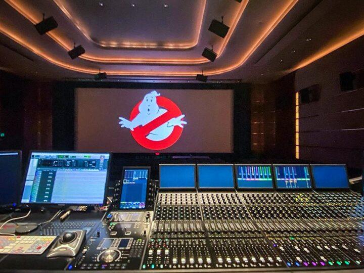 Ghostbusters Legacy: tecnico del suono pubblica foto