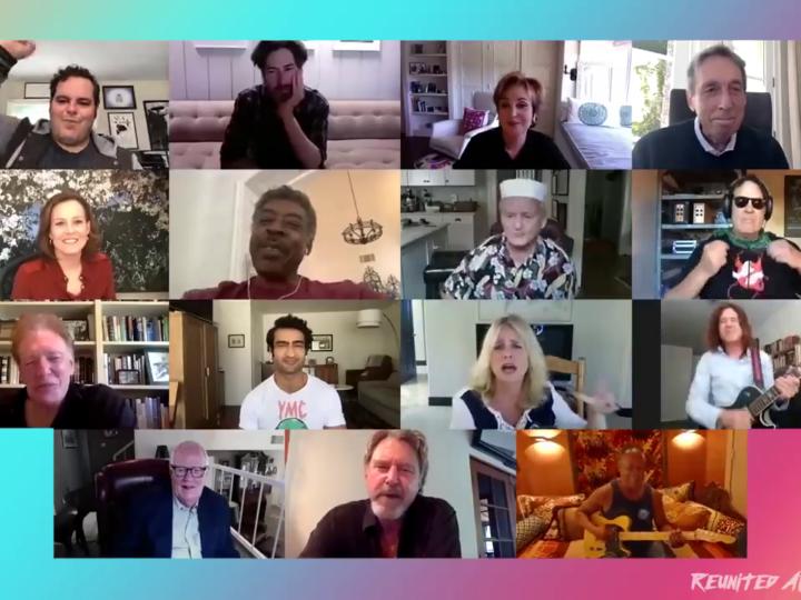 Epica reunion su Zoom del cast di Ghostbusters!