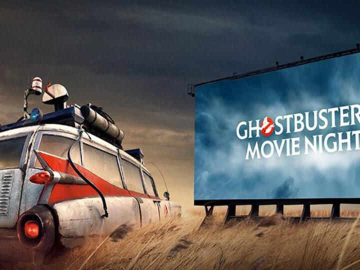 """Grafica con ECTO-1 di """"Ghostbusters: Legacy"""" per il GBDay 2020"""