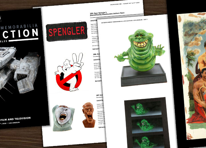Prop Store: Live Auction – all'asta oggetti rari dei due film di Ghostbusters