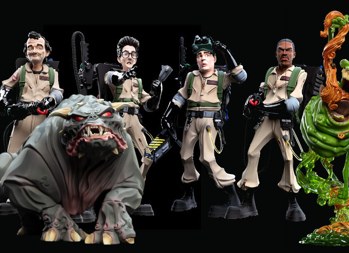 Disponibili le statue dei Ghostbusters by Weta