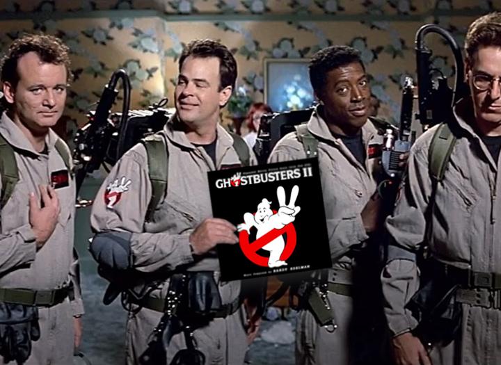 """Ghostbusters II Score"" di Randy Edelman in uscita nel 2021"