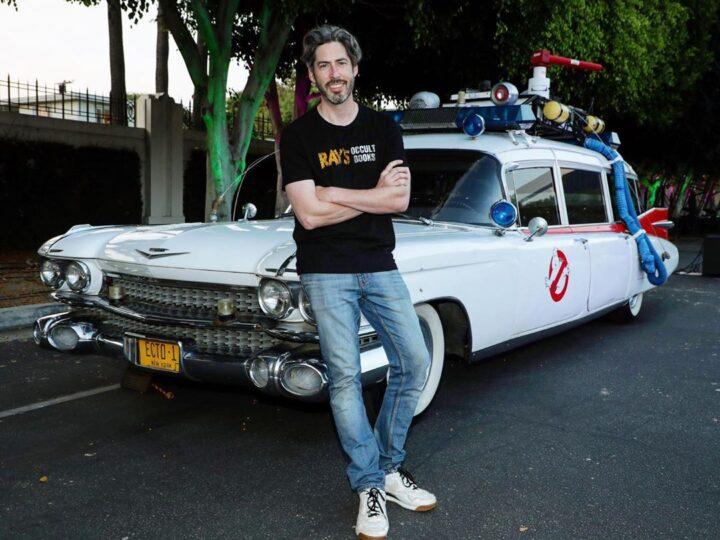 """Jason Reitman ospite a sorpresa al """"Sony Drive-in Experience"""" per la proiezione di Ghostbusters 1984"""