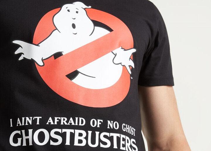 "T-Shirt Ghostbusters da Tezenis ""I ain't afraid of no ghost"""