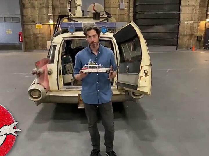 Jason Reitman presenta la ECTO-1 di Ghostbusters: Afterlife e il modello Hasbro