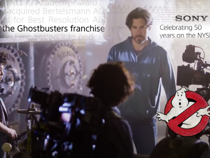 "Video ""The Ghostbusters Franchise"" per celebrare i 50 anni di Sony"
