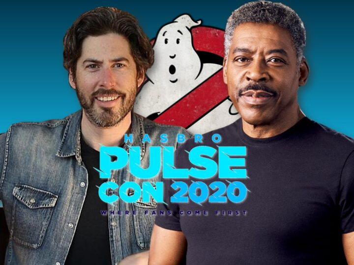 Jason Reitman insieme a Ernie Hudson al Hasbro Pluse Con 2020