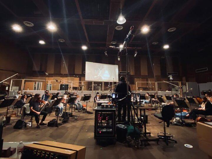 Ghostbusters Afterlife: Orchestra suona la musica per il film
