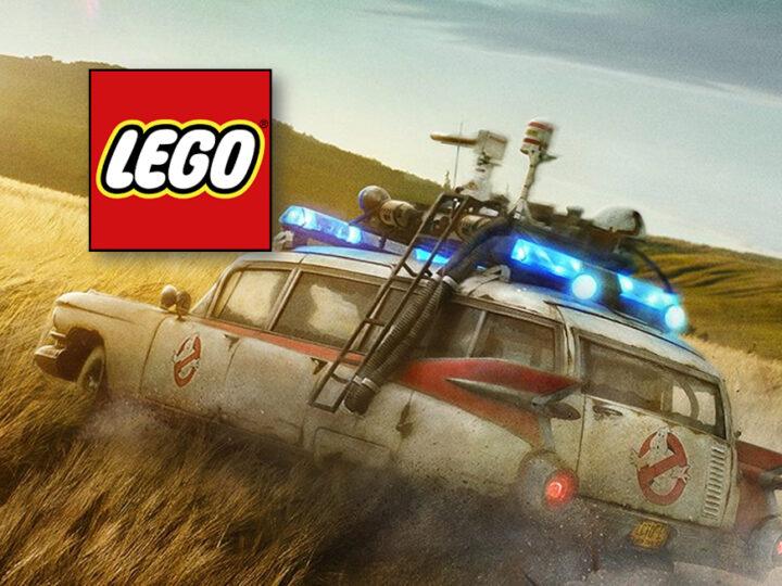 Trapelato Lego Ghostbusters 10274 Creator Expert Ecto-1