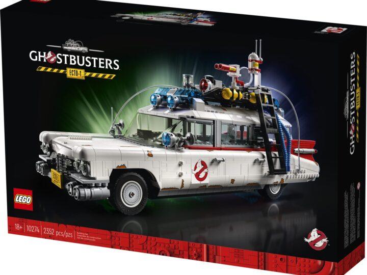 Lego Ghostbusters 10274 Creator Expert Ecto-1 disponibile dal 15 novembre!