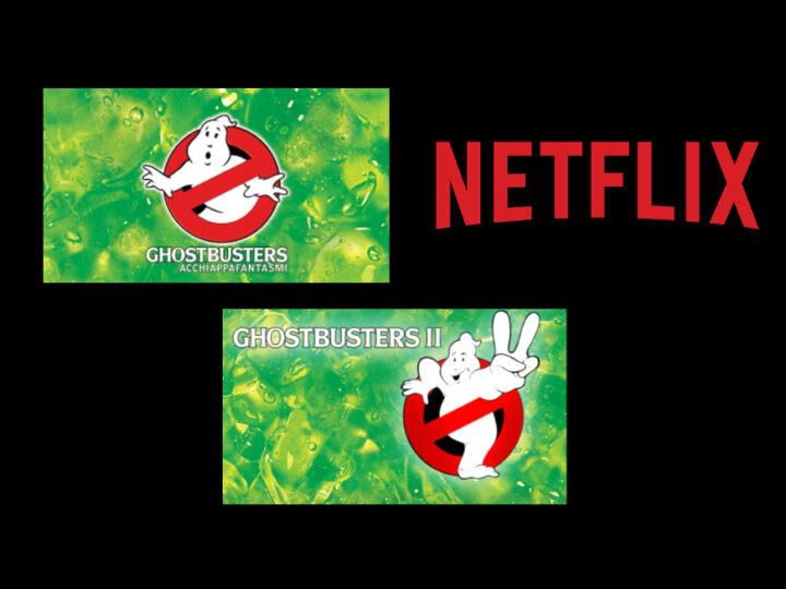 Su Netflix dal 1 dicembre Ghostbusters e Ghostbusters 2