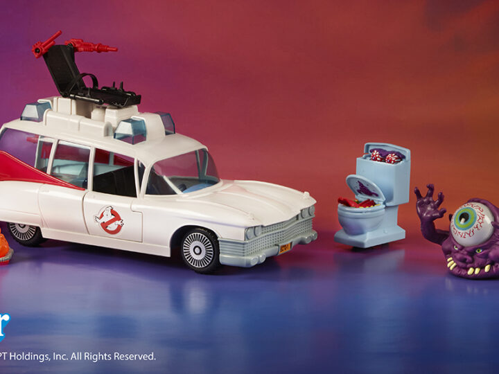 Hasbro: Torna la mitica ECTO-1 di The Real Ghostbusters