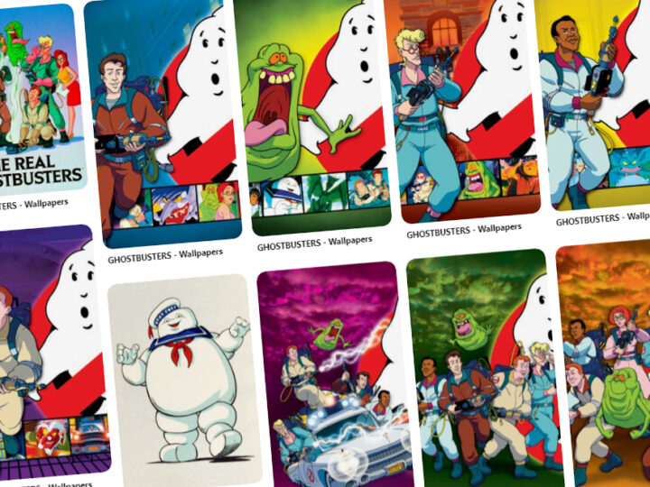 "Ufficiali wallpaper di ""The Real Ghostbusters""!"