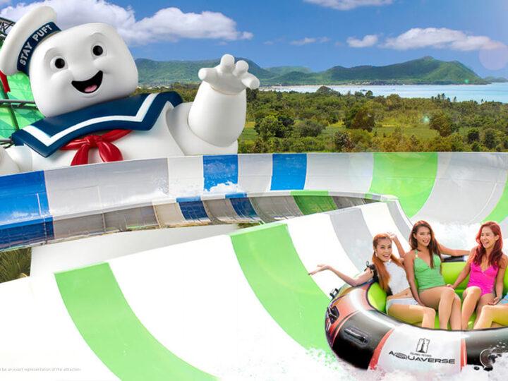 """""""Aquaverse"""" il primo parco acquatico a tema della Columbia Pictures aprirà ad ottobre 2021 in Thailandia"""