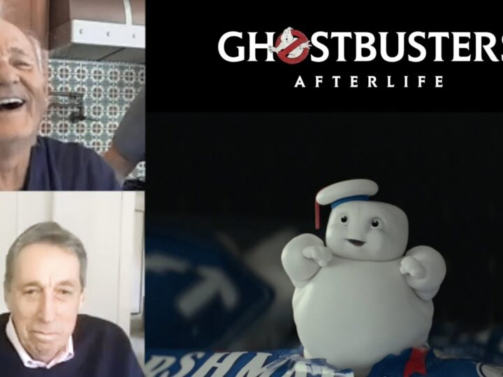 La fantastica reazione di Bill Murray alla clip dei Mini-Pufts di Ghostbusters: Legacy!