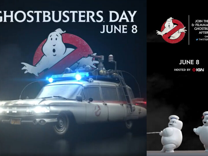 Ghostbusters Day 2021 con il cast di Ghostbusters Afterlife!