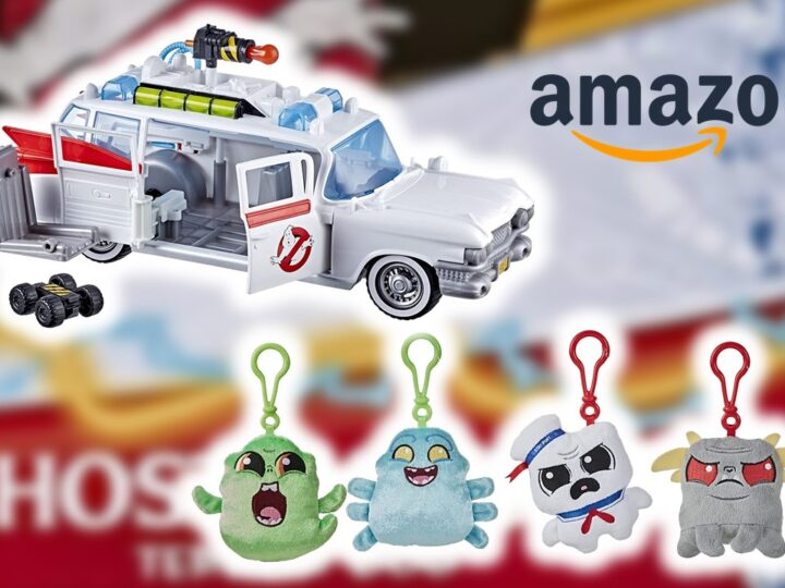 Nuovi prodotti Ghostbusters in arrivo anche su Amazon Italia!