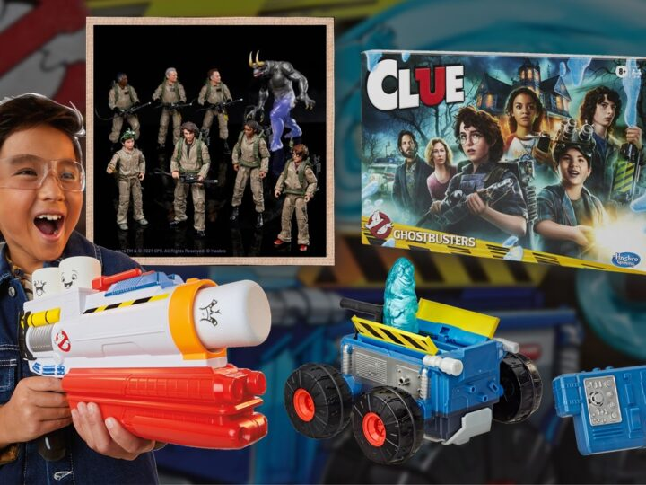 I nuovi giocattoli Ghostbusters di Hasbro!