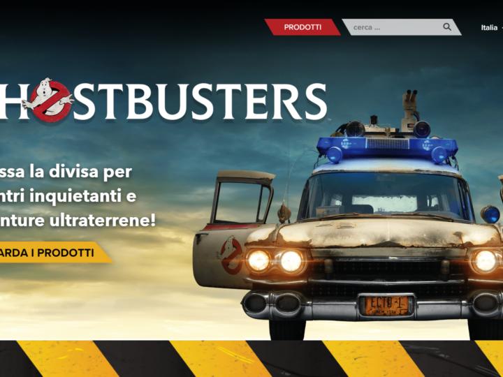 Hasbro presenta il sito dedicato ai prodotti Ghostbusters anche in italiano!