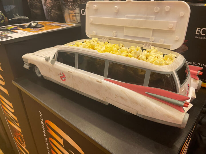 Porta popcorn come ECTO-1 di Ghostbusters Afterlife, in esclusiva per i cinema americani!