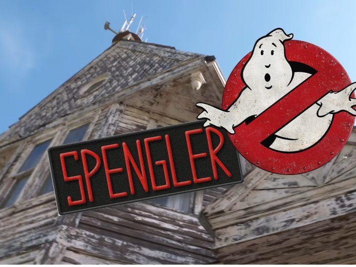 Adam Savage, Mythbusters, fa un tour sul set della fattoria degli Spengler in Ghostbustes Legacy!